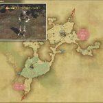 クァールクロウ・ハンター - 黒衣森:南部森林の敵生息場所とドロップ素材(FF14 敵素材マップ:新生エリア)