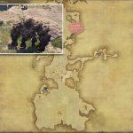 サンドストーン・ゴーレム - 南ザナラーンの敵生息場所とドロップ素材(FF14 敵素材マップ:新生エリア)
