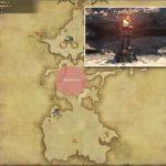 燃える聖火台 - 南ザナラーンの敵生息場所とドロップ素材(FF14 敵素材マップ:新生エリア)