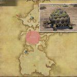 ブロンズトータス - 南ザナラーンの敵生息場所とドロップ素材(FF14 敵素材マップ:新生エリア)