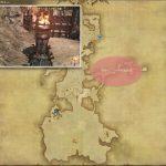 焔神イフリートの聖火台 - 南ザナラーンの敵生息場所とドロップ素材(FF14 敵素材マップ:新生エリア)