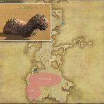 サンドウォーム - 南ザナラーンの敵生息場所とドロップ素材(FF14 敵素材マップ:新生エリア)