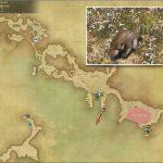 シュアモール - 西ラノシアの敵生息場所とドロップ素材(FF14 敵素材マップ:新生エリア)