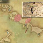 ダスクバット - 西ラノシアの敵生息場所とドロップ素材(FF14 敵素材マップ:新生エリア)