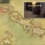 海蛇の赤き爪 - 西ラノシアの敵生息場所とドロップ素材(FF14 敵素材マップ:新生エリア)