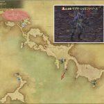 サプサ・シェルフトゥース - 西ラノシアの敵生息場所とドロップ素材(FF14 敵素材マップ:新生エリア)