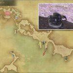 アクソロトル - 西ラノシアの敵生息場所とドロップ素材(FF14 敵素材マップ:新生エリア)