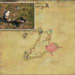マーモット - 西ザナラーンの敵生息場所とドロップ素材(FF14 敵素材マップ:新生エリア)