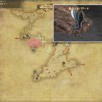 バザード - 西ザナラーンの敵生息場所とドロップ素材(FF14 敵素材マップ:新生エリア)