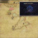 レッドコブラン - 西ザナラーンの敵生息場所とドロップ素材(FF14 敵素材マップ:新生エリア)