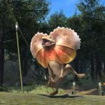 パッチ4.35で追加されたミニオン「クラミドサウルス」