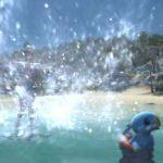 水をかける - シーズナルイベント紅蓮祭2018のエモート