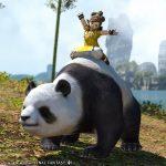 仙術熊猫 - モグステーションで購入できるマウント
